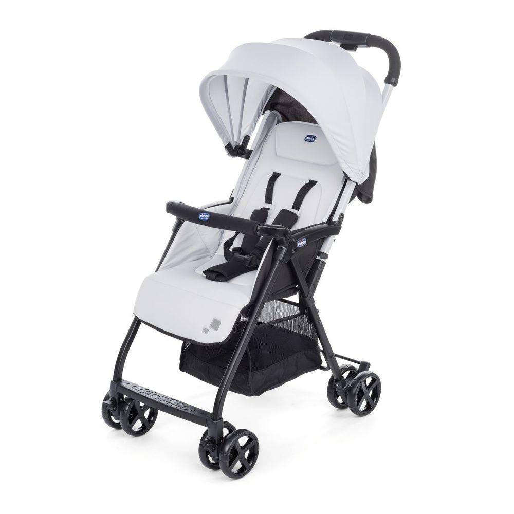 Carrinho com Bebê Ohlala (muito leve) Cinza - Chicco