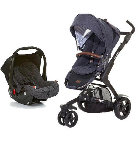 Carrinho De Bebê 3 Rodas 3 Tec Style Street + Bebê Conforto - Abc Design