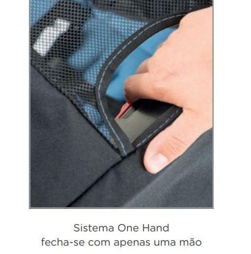 Carrinho de Bebê AT6 K com Cadeira Touring SE  Preto com Cinza - Burigotto