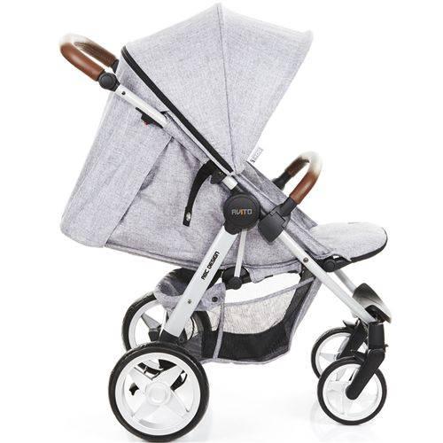 Carrinho De Bebê Avito Graphite Gray + Bebê Conforto - Abc Design