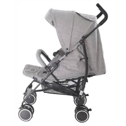 Carrinho De Bebê Genua Woven Gray (Cinza Claro) - Abc Design
