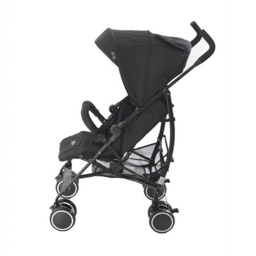 Carrinho De Bebê Genua Woven Black (Preto) - Abc Design