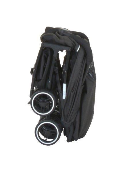 Carrinho de Bebê It Black (Preto - Leve e Extremamente Compacto) - Burigotto