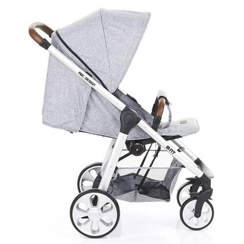 Carrinho De Bebê Mint Graphite Gray (Cinza Claro) II - Abc Design
