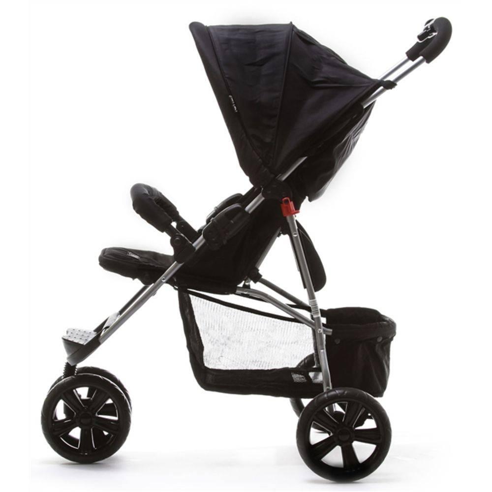 Carrinho De Bebê Passeio Moving Light Woven Black (Preto) - ABC Design