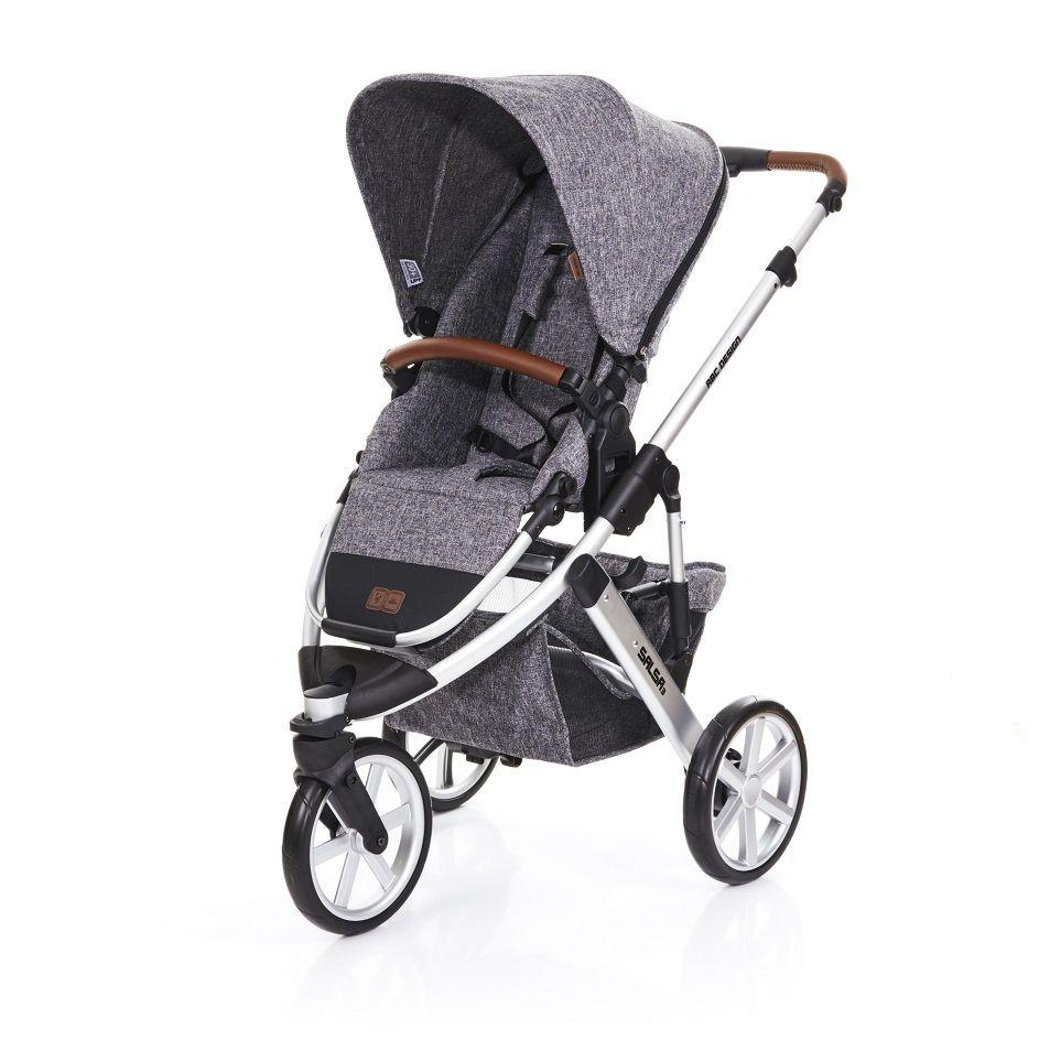 Carrinho de Bebê Salsa 3 Rodas Race (Cinza escuro) - ABC Design