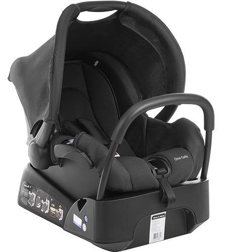 Carrinho de Bebê Travel System Mobi Safety 1st Preto e Branco