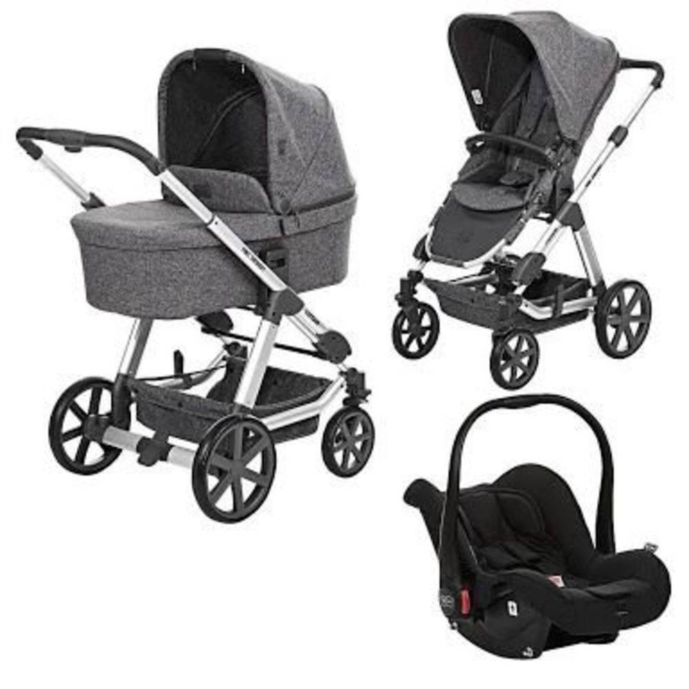 Carrinho de Passeio Moisés Condor 4 com Bebê Conforto Risus Track - ABC Design