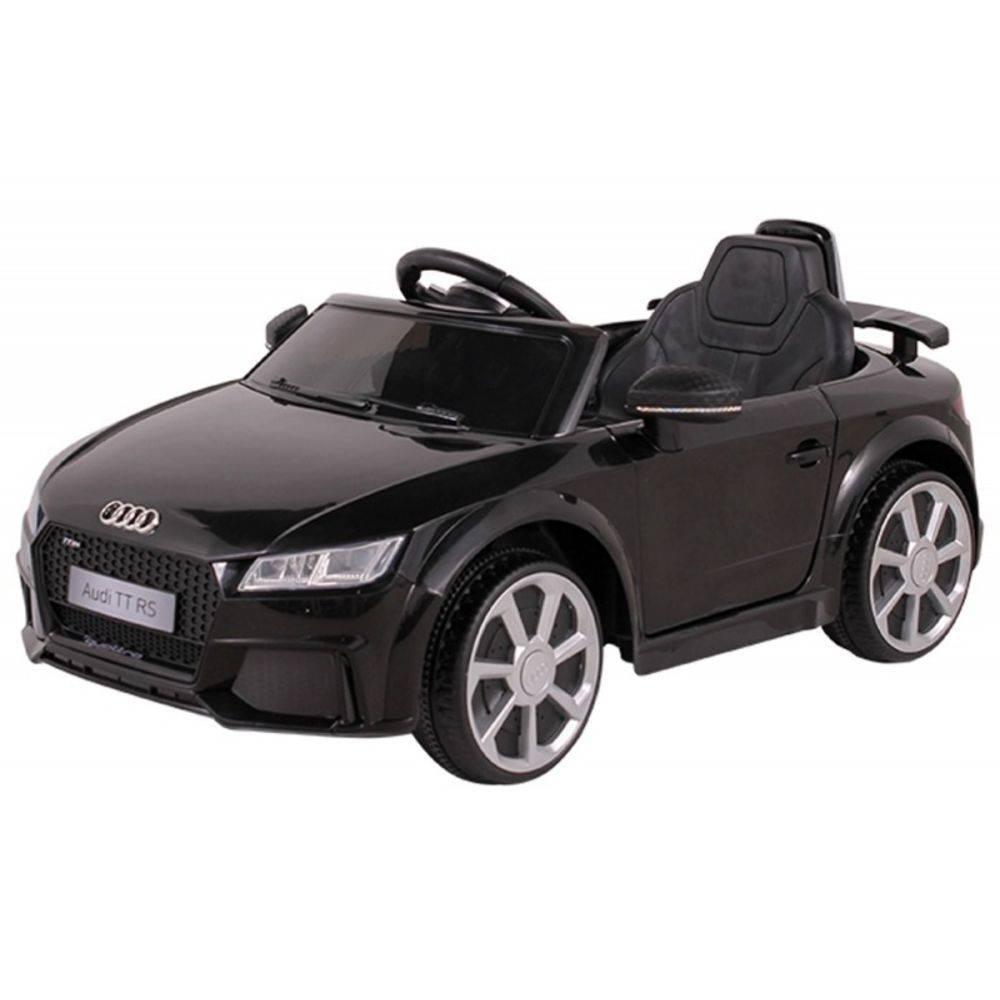 Carrinho Elétrico 12 Volts Audi Tt Preto P/ Crianças - Belfix