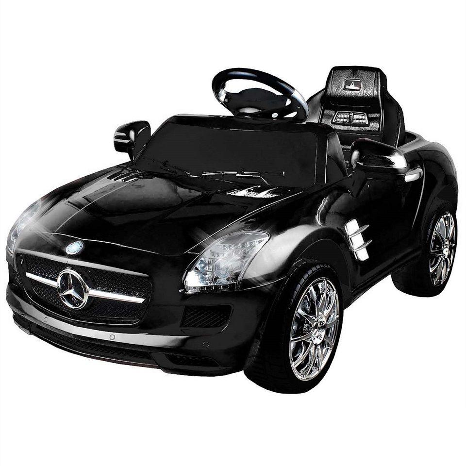 Carrinho Elétrico Infantil Mercedes Preto 6 Volts - Xalingo