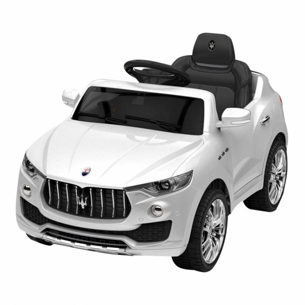 Carrinho Elétrico Maserati Carro 6 Volts Branco - Xalingo