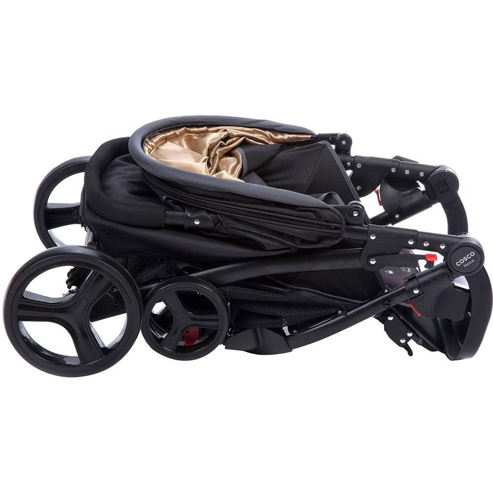 Carrinho Travel System Com Bebê Conforto Nexus Preto - Cosco