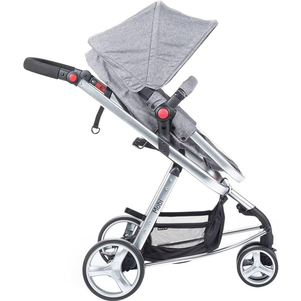 Carrinho Travel System Mobi com Bebê Conforto Cinza II - Safety 1st