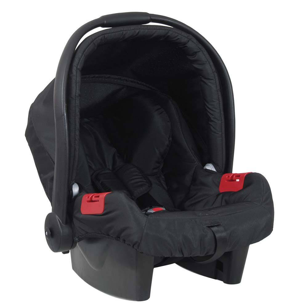 Carrinho Travel System Soul com Bebê conforto Preto - Burigotto