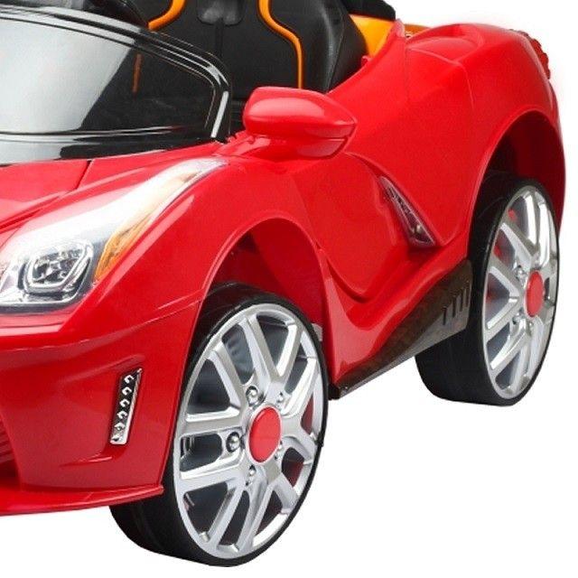 Carro Elétrico Infantil Luxo Vermelho 12V II - BelFix
