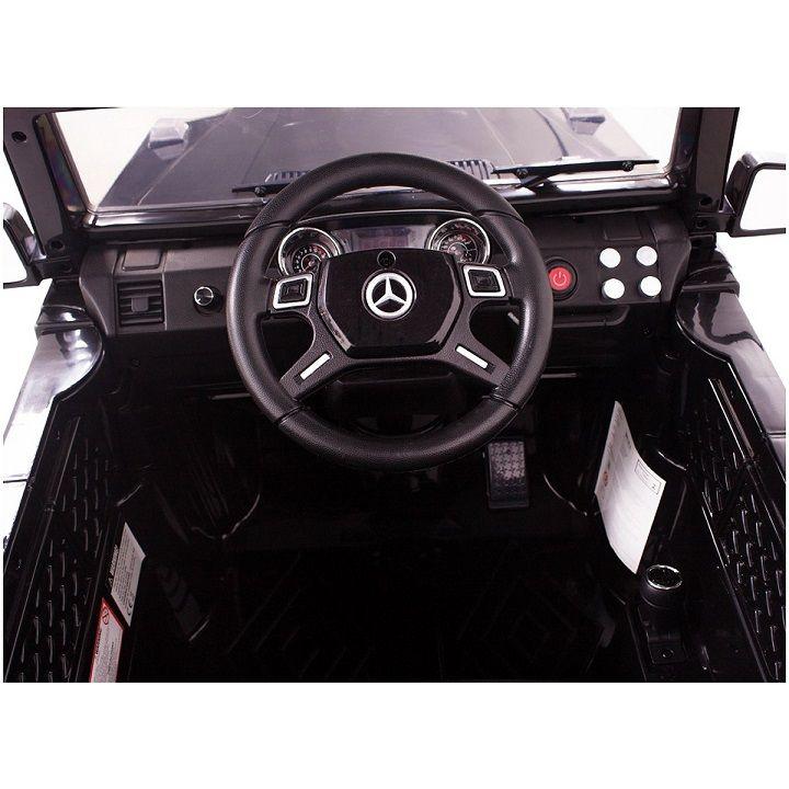 Carro Elétrico Mercedes Off Road AMG V8 Controle 12V Preto - Belfix