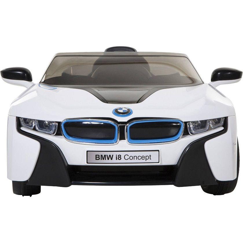 Mini Carro Elétrico BMW I8 Concept Controle Remoto Branco - Belfix