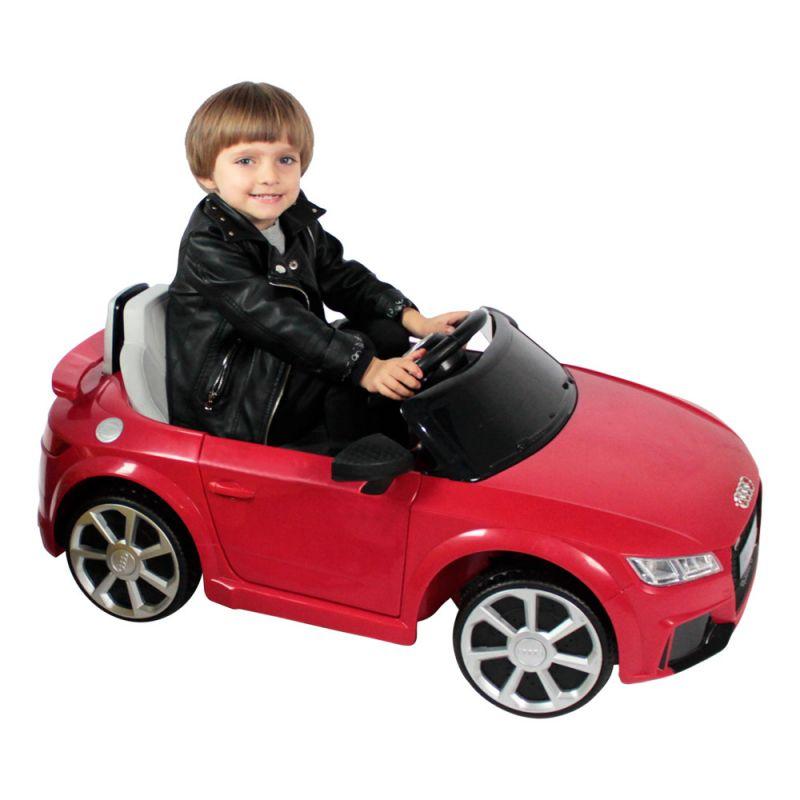 Mini Carro Infantil Audi TT RS (Vermelho) R/C 12V - Belfix