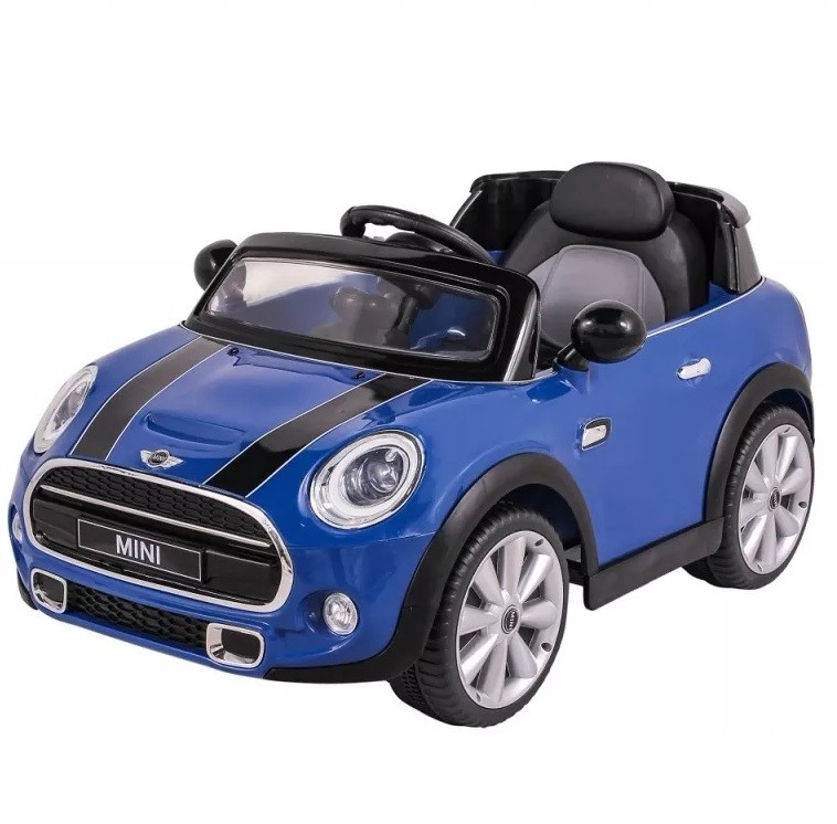 Mini Cooper Elétrico (Azul) Controle Remoto 12V - Belfix