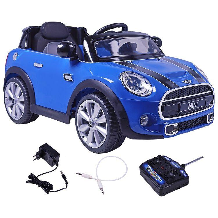 Mini Cooper Elétrico (Azul) R/C 12V - Belfix