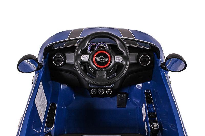 Mini Cooper Elétrico (Azul) R/C 12V III - Belfix