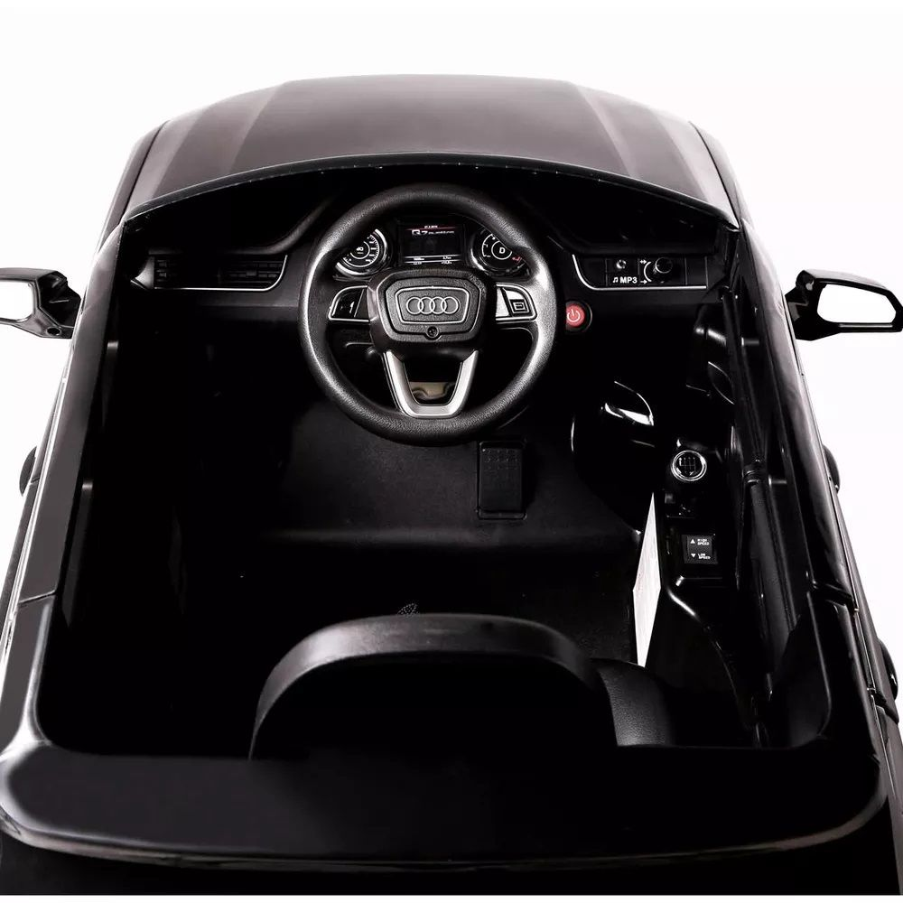 Mini Veículo Elétrico Audi Q7 SUV (Preto) R/C 12V II - Belfix