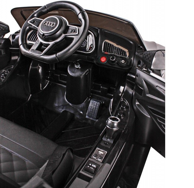 Mini Veículo Elétrico Audi TT R8S (Preto) R/C 12V - Belfix