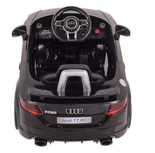 Mini Veículo Elétrico Audi TT RS (Preto) R/C 12V - Belfix