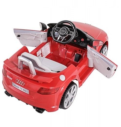 Mini Veículo Elétrico Audi TT RS (Vermelho) R/C 12V - Belfix