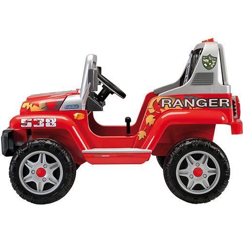Mini Veículo Elétrico Ranger 538 Vermelho 12v - Peg-Pérego