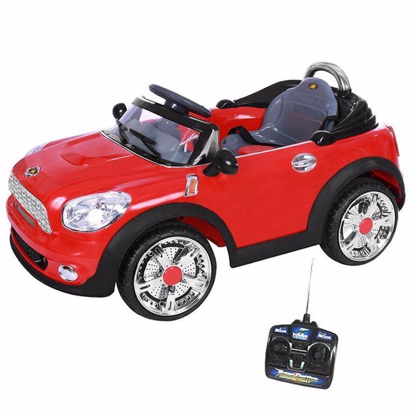 Mini Veículo Infantil Mini Cooper Conversível Vermelho 6V - BelFix