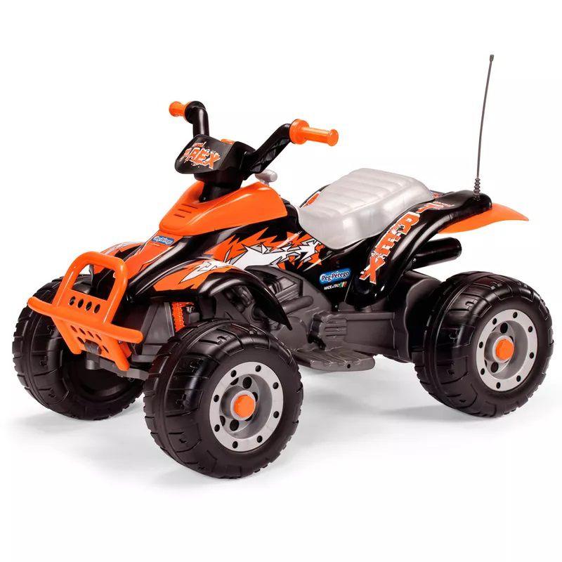 Quadriciclo Corral T-Rex Arancio (Laranja) 12v - Peg-Pérego