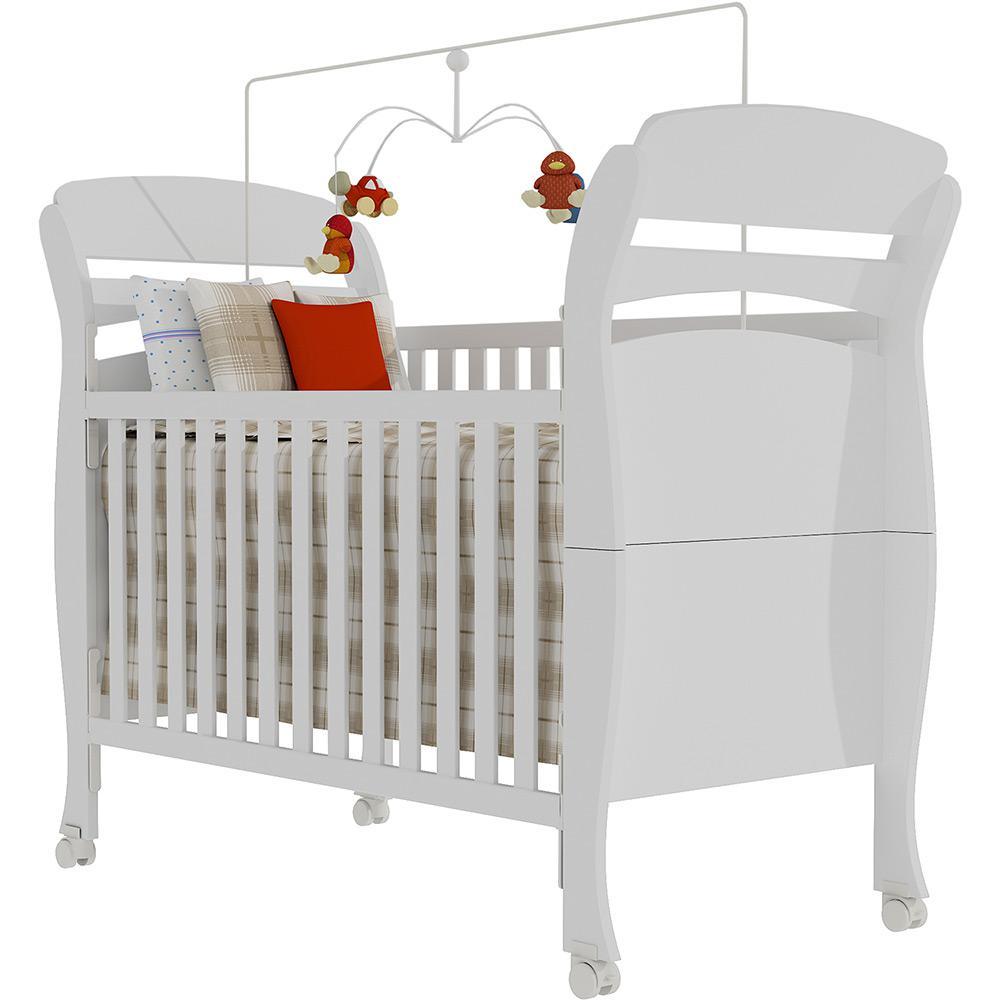 Quarto Infantil Evolution 4 Portas Branco Brilho - Tcil