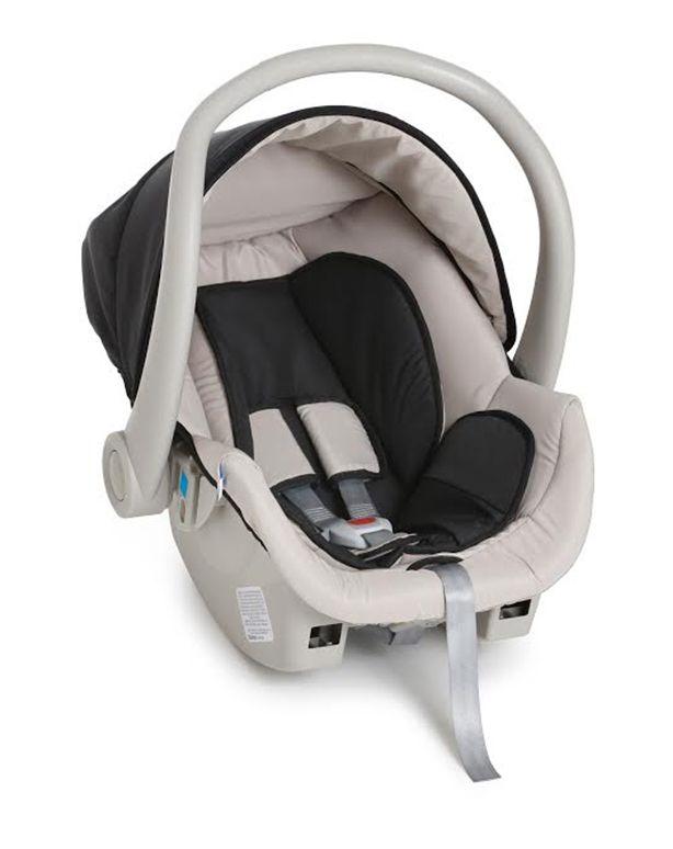 Travel System 3 Rodas Cross com Bebê conforto Preto II - Galzerano