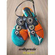 Rasteira Afro Mandala