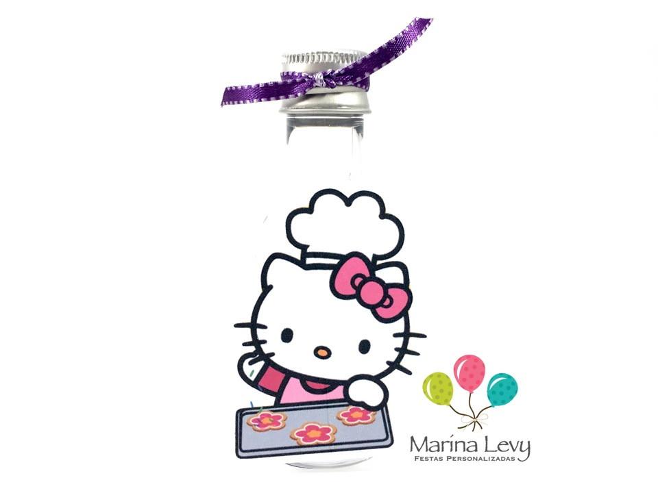 Garrafinha 50ml - Hello Kitty  - Marina Levy Festas