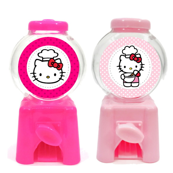 Mini Candy Machine - Hello Kitty  - Marina Levy Festas