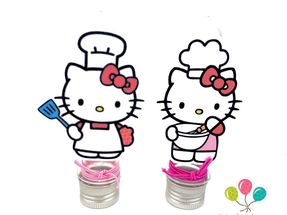 Tubete - Hello Kitty  - Marina Levy Festas