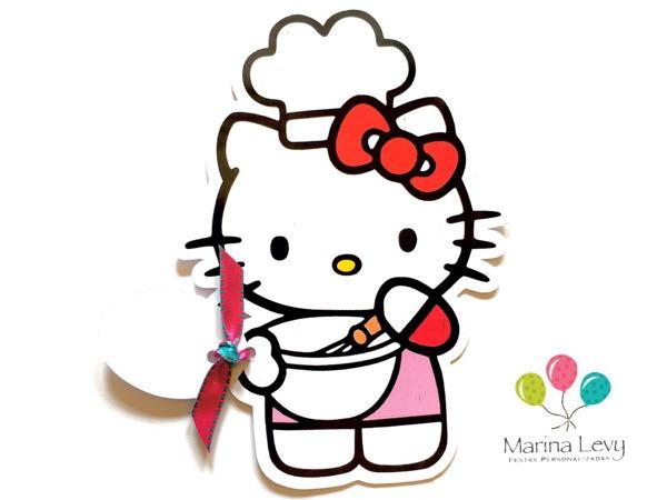 Convite Corpinho - Hello Kitty