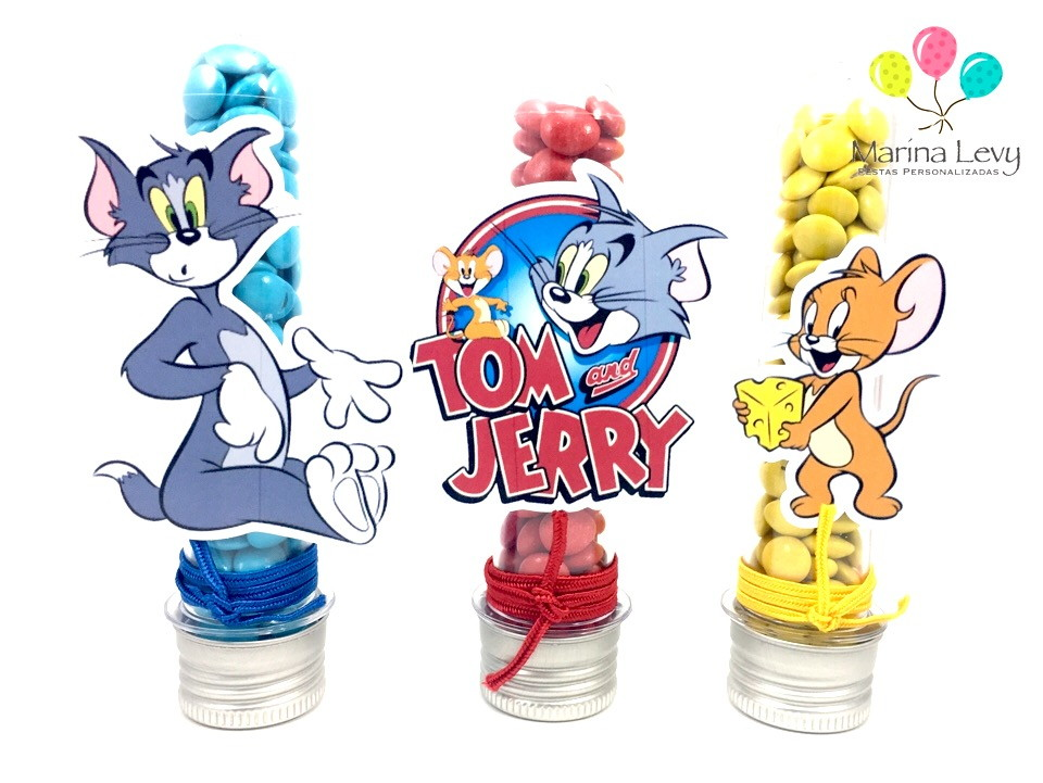 Tubete - Tom e Jerry  - Marina Levy Festas