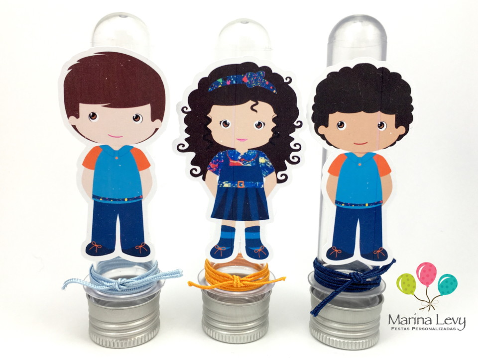 Kit Festa Premium 3D - Chiquititas  - Marina Levy Festas