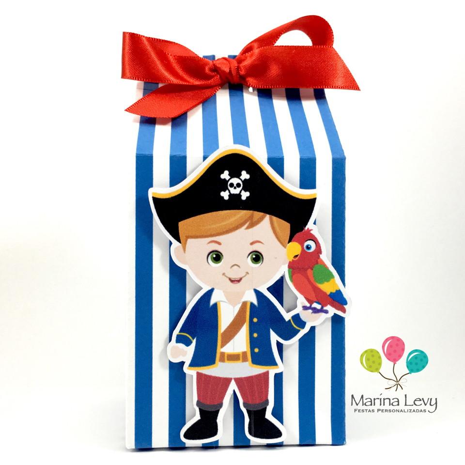 Caixinha Milk - Pirata