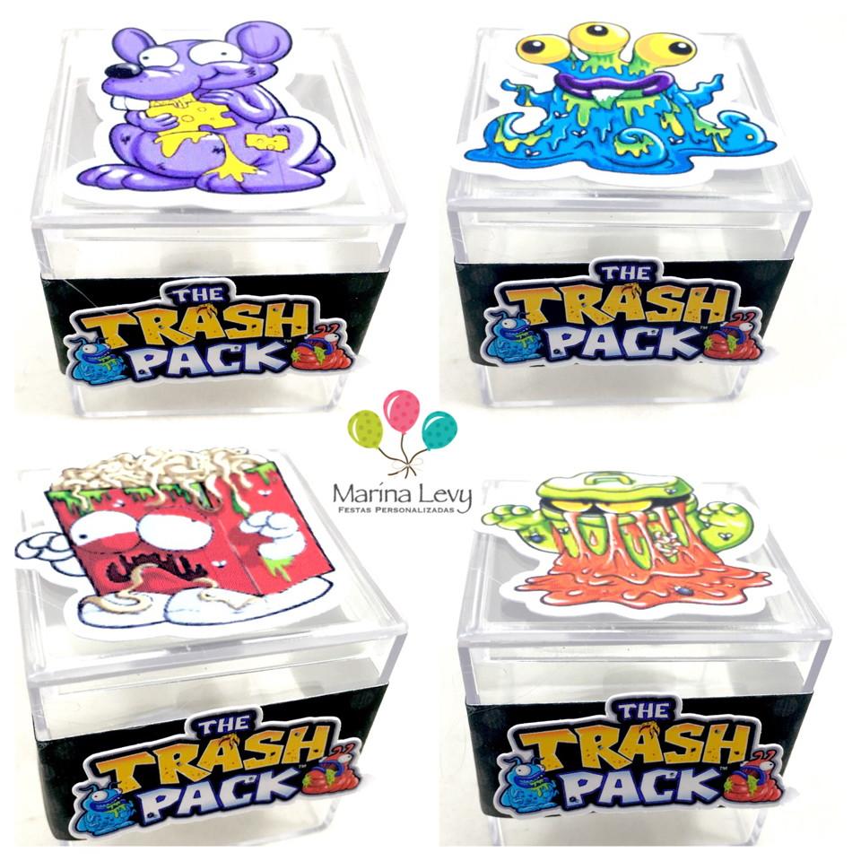 Caixinha Acrílico - Trash Pack
