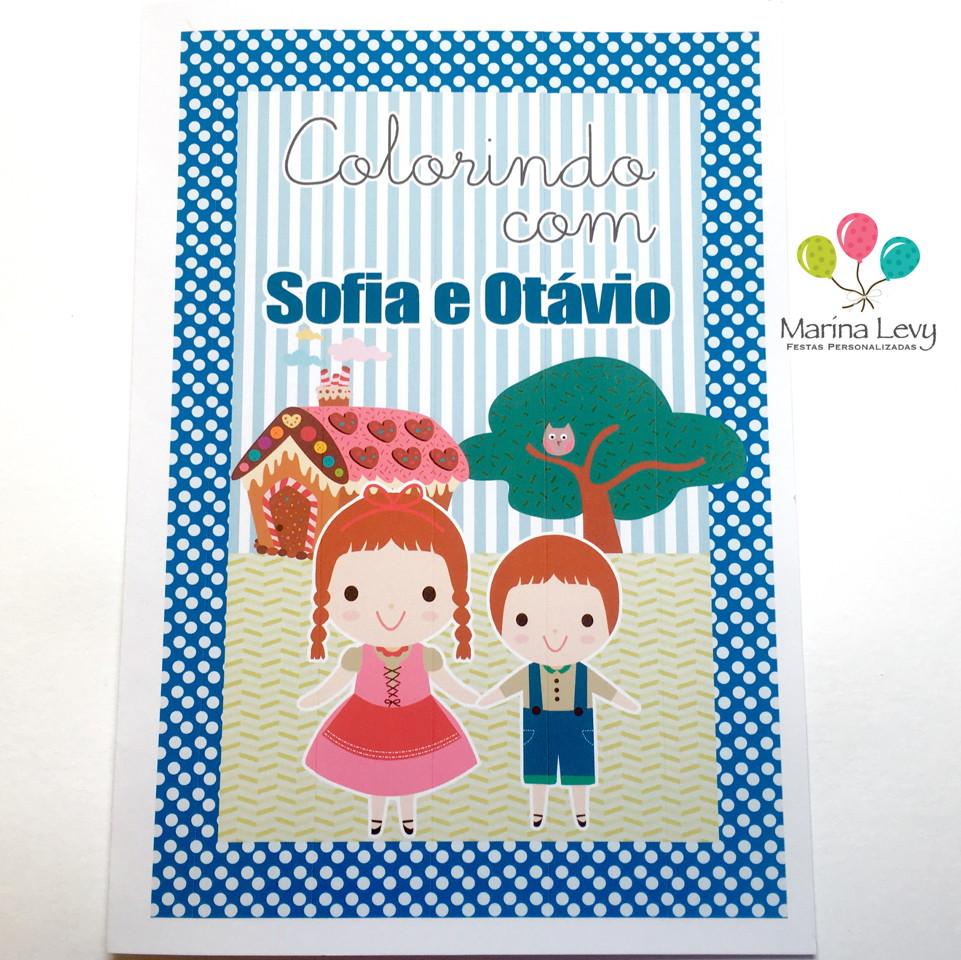 Kit Colorir - João e Maria