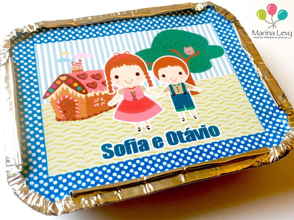 Mini Marmitinha - João e Maria