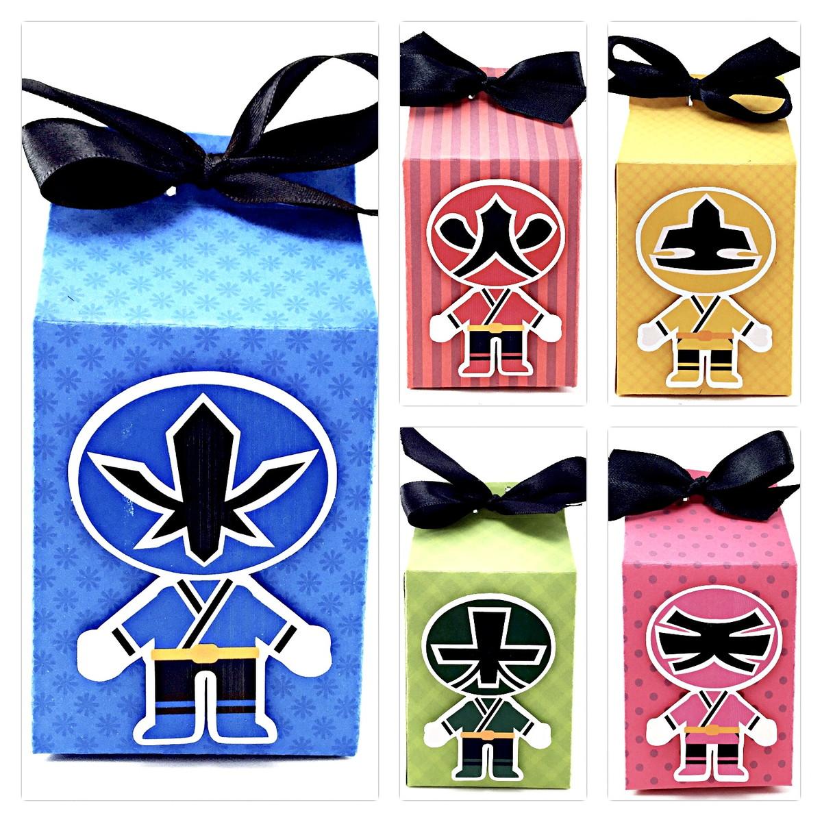 Caixinha Milk - Power Rangers