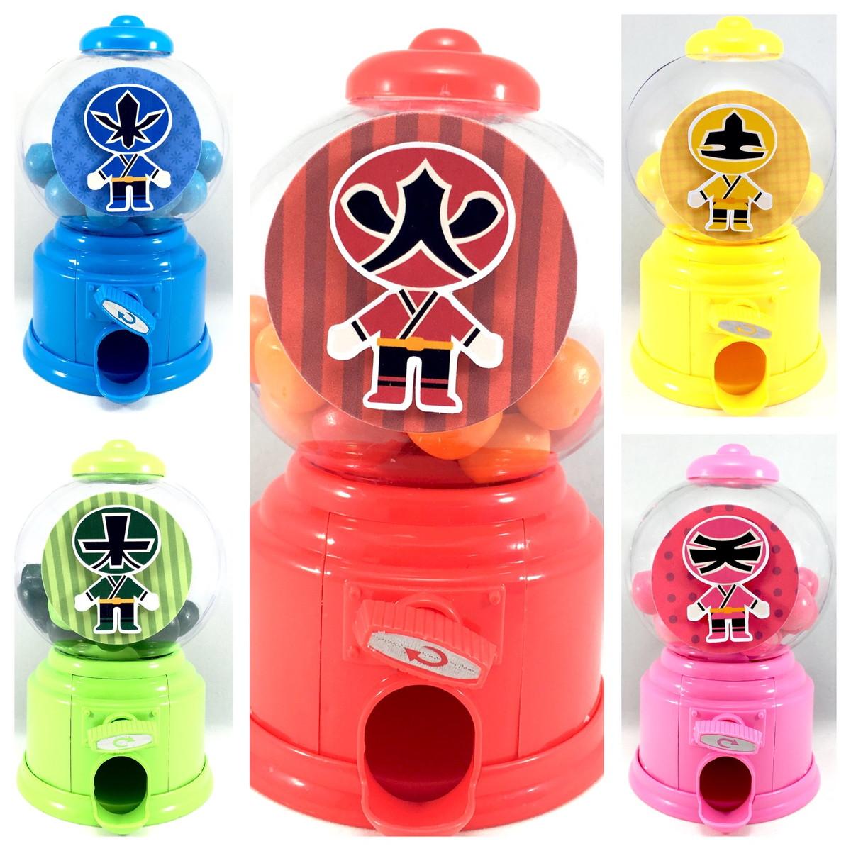 Candy Machine - Power Rangers  - Marina Levy Festas