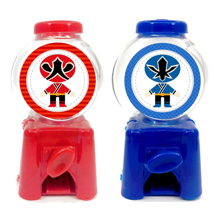 Mini Candy Machine - Power Rangers  - Marina Levy Festas