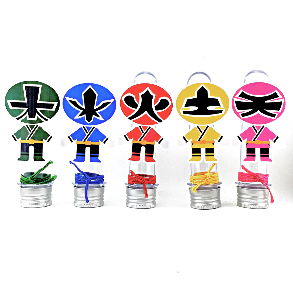 Tubete - Power Rangers