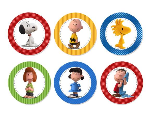 Aplique 3,5cm - Snoopy